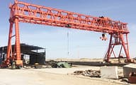 engineer gantry crane Dafang Crane