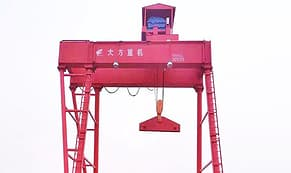 Double girder tire gantry crane